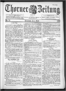 Thorner Zeitung 1898, Nr. 78 Erstes Blatt