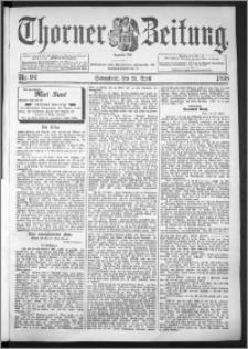 Thorner Zeitung 1898, Nr. 94