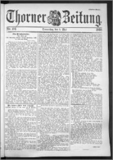 Thorner Zeitung 1898, Nr. 104 Zweites Blatt