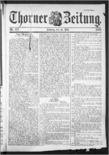 Thorner Zeitung 1898, Nr. 124 Zweites Blatt