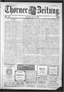 Thorner Zeitung 1898, Nr. 171 Zweites Blatt
