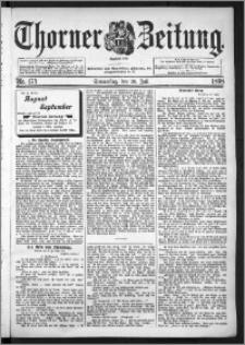 Thorner Zeitung 1898, Nr. 174