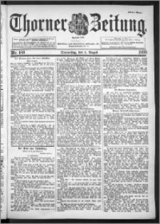 Thorner Zeitung 1898, Nr. 180 Erstes Blatt