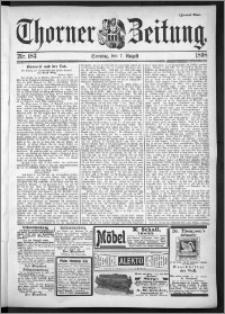 Thorner Zeitung 1898, Nr. 183 Zweites Blatt