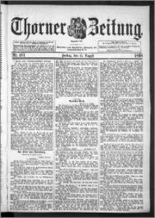 Thorner Zeitung 1898, Nr. 187