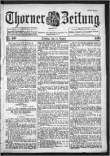 Thorner Zeitung 1898, Nr. 190 Erstes Blatt