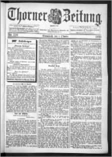 Thorner Zeitung 1898, Nr. 230