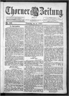 Thorner Zeitung 1898, Nr. 240