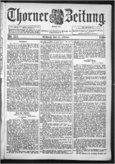 Thorner Zeitung 1898, Nr. 245