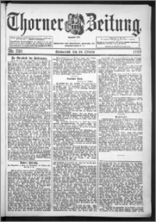 Thorner Zeitung 1898, Nr. 248
