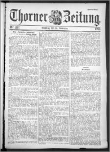 Thorner Zeitung 1898, Nr. 267 Zweites Blatt