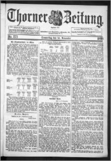 Thorner Zeitung 1898, Nr. 275