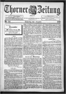 Thorner Zeitung 1898, Nr. 281