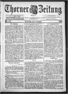 Thorner Zeitung 1898, Nr. 287