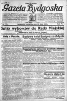 Gazeta Bydgoska 1925.07.30 R.4 nr 173