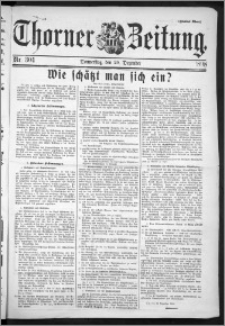 Thorner Zeitung 1898, Nr. 304 Zweites Blatt