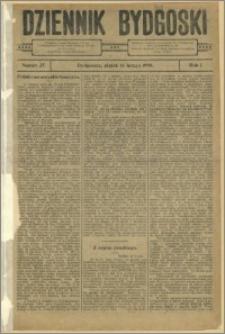 Dziennik Bydgoski, 1908.02.14, R.1, nr 37