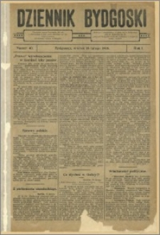 Dziennik Bydgoski, 1908.02.18, R.1, nr 40