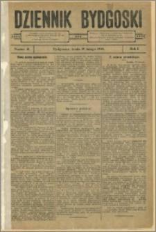Dziennik Bydgoski, 1908.02.19, R.1, nr 41