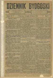 Dziennik Bydgoski, 1908.02.20, R.1, nr 42
