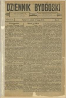 Dziennik Bydgoski, 1908.02.21, R.1, nr 43