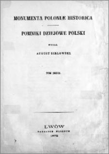 Monumenta Poloniae historica = Pomniki dziejowe Polski. T. 2
