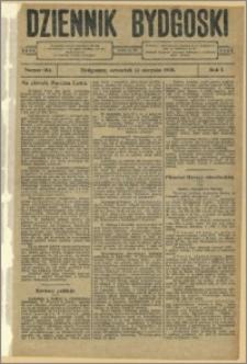 Dziennik Bydgoski, 1908.08.13, R.1, nr 184