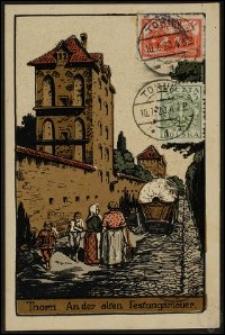 Toruń - mury miejskie