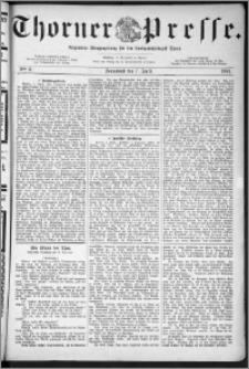 Thorner Presse 1883, Nro. 6