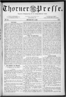Thorner Presse 1883, Nro. 31