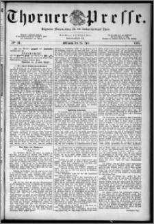 Thorner Presse 1883, Nro. 96