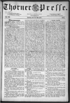Thorner Presse 1883, Nro. 202