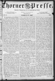 Thorner Presse 1883, Nro. 117