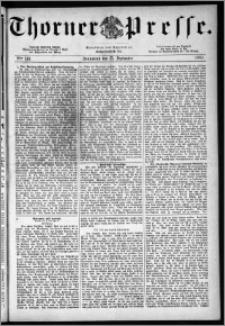 Thorner Presse 1883, Nro. 141
