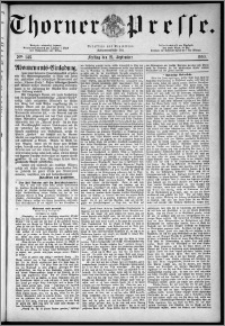 Thorner Presse 1883, Nro. 146