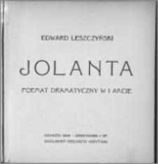 Jolanta : poemat dramatyczny w 1 akcie