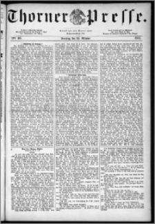 Thorner Presse 1883, Nro. 166