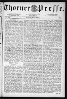 Thorner Presse 1883, Nro. 169