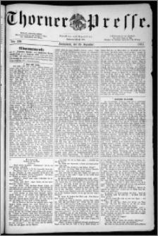 Thorner Presse 1883, Nro. 229