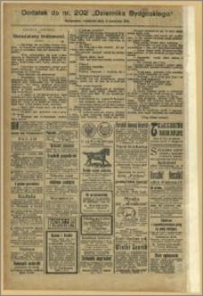 Dziennik Bydgoski, 1911.09.03, R.4, nr 202 Dodatek