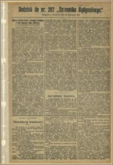 Dziennik Bydgoski, 1911.11.19, R.4, nr 267 Dodatek