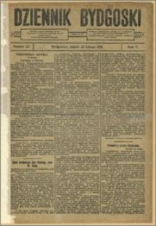 Dziennik Bydgoski, 1912.02.23, R.5, nr 43