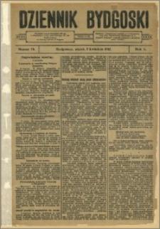Dziennik Bydgoski, 1912.04.05, R.5, nr 78