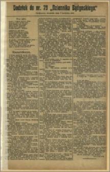 Dziennik Bydgoski, 1912.04.07, R.5, nr 79 Dodatek