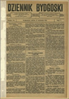 Dziennik Bydgoski, 1912.04.27, R.5, nr 94