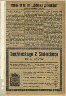 Dziennik Bydgoski, 1912.05.05, R.5, nr 101 Dodatek