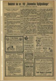 Dziennik Bydgoski, 1912.05.19, R.5, nr 112 Dodatek