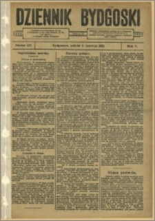 Dziennik Bydgoski, 1912.06.08, R.5, nr 127