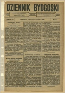 Dziennik Bydgoski, 1912.06.27, R.5, nr 143