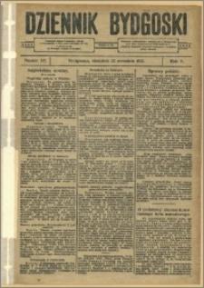 Dziennik Bydgoski, 1912.09.22, R.5, nr 217